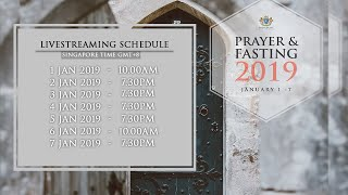 7 Days Prayer and Fasting 2019 | Day 3