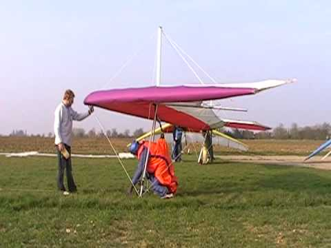 Hang gliding again after a 23 year 'rest'. Suffolk