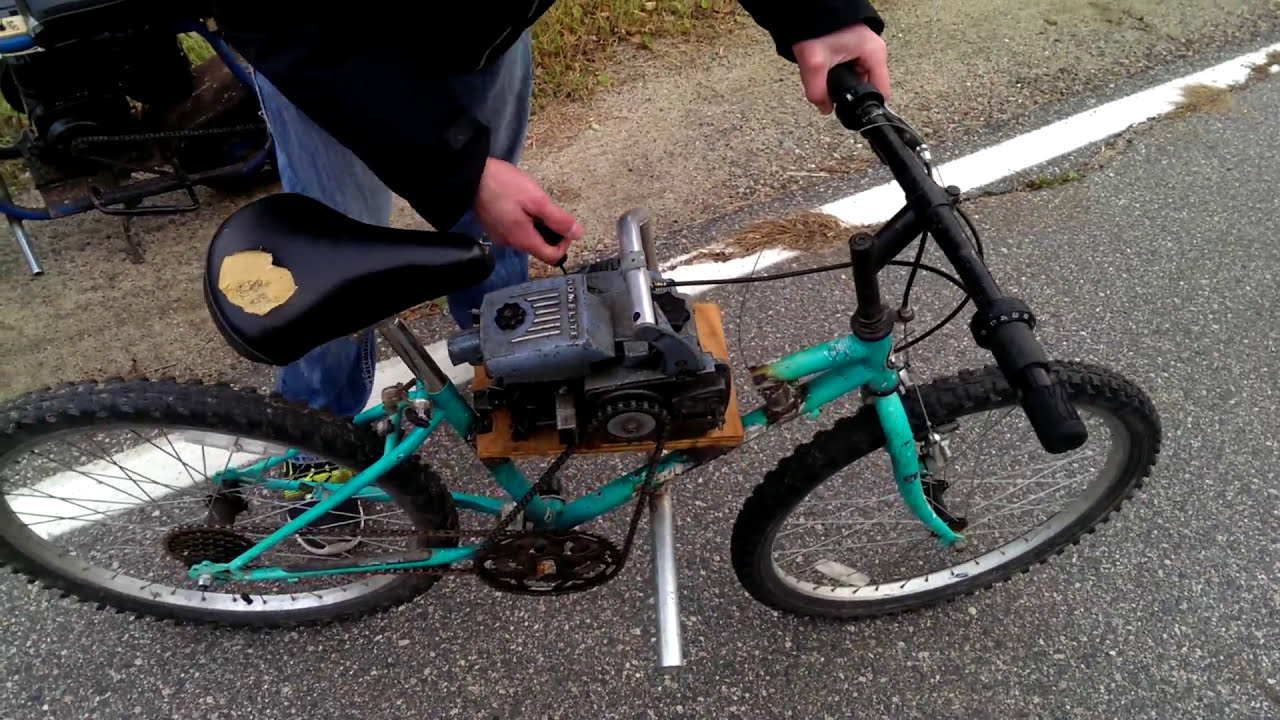 Chainsaw bike youtube chainsaw bike greentooth Images