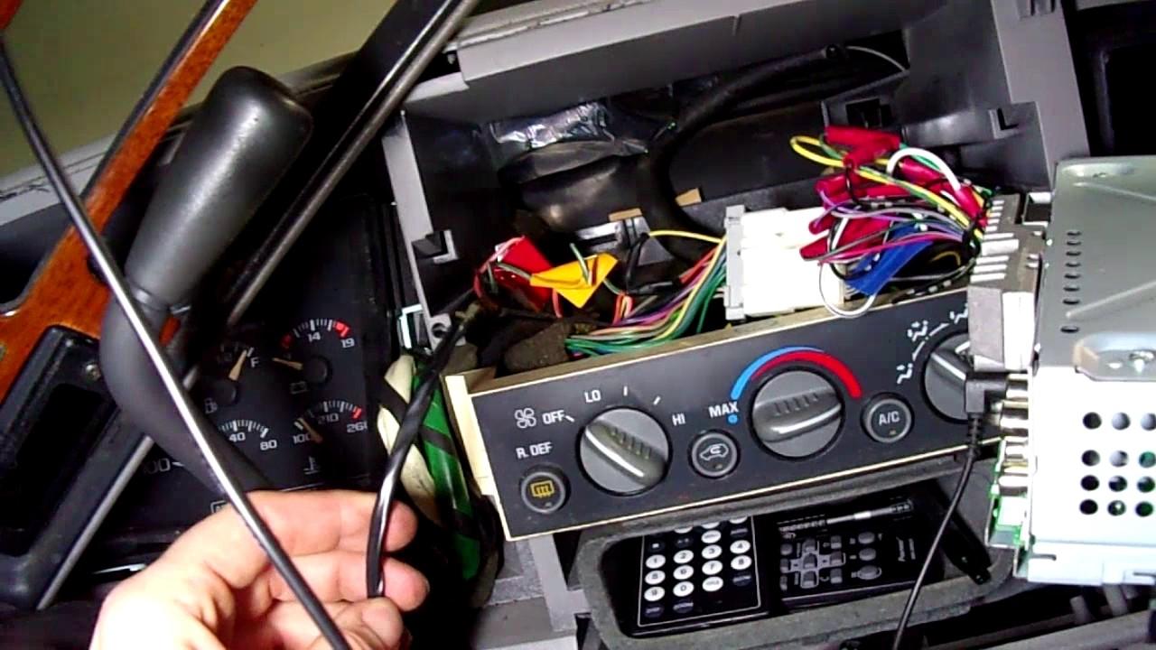 hooking up amp and sub installing bluetooth mic hardwiring rearview dashcam suburban build 3 [ 1280 x 720 Pixel ]