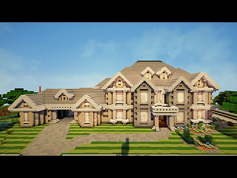 Minecraft visite maison traditionnelle de epic youtube for Belle maison minecraft
