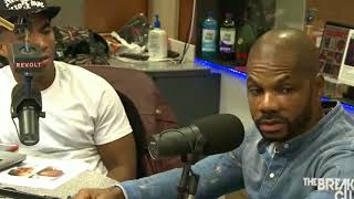 Is it okay for Kirk Franklin to be on The Breakfast Club?