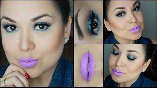Maquillaje: luz en azul | Nancy Ibarra