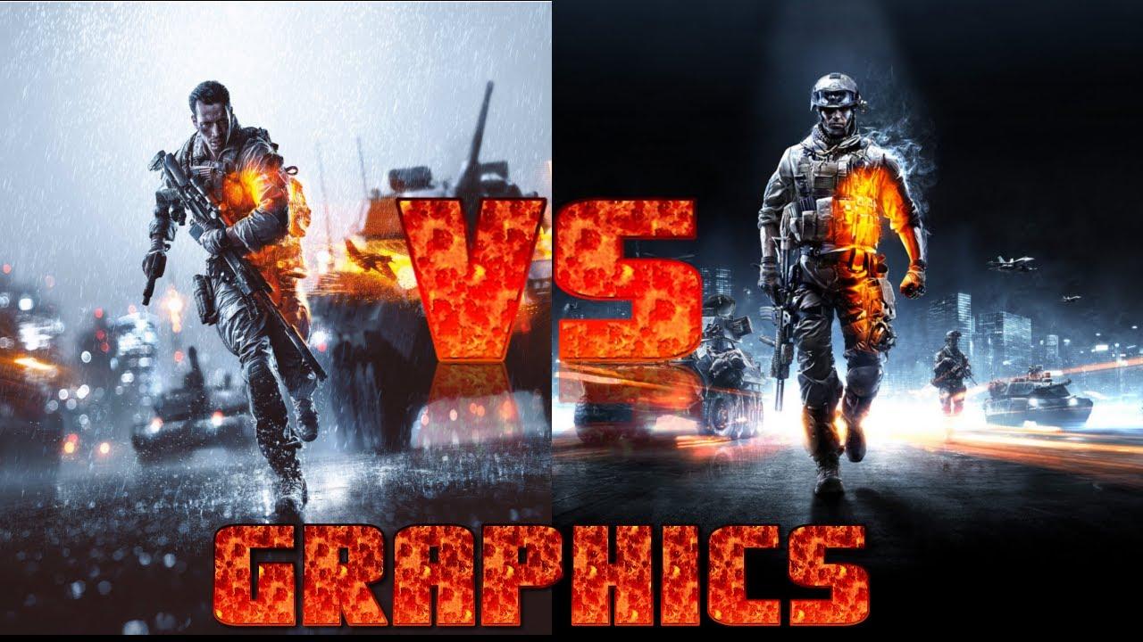 BATTLEFIELD 4 vs BATTLEFIELD 3 Graphics PC 1080p Ultra ...