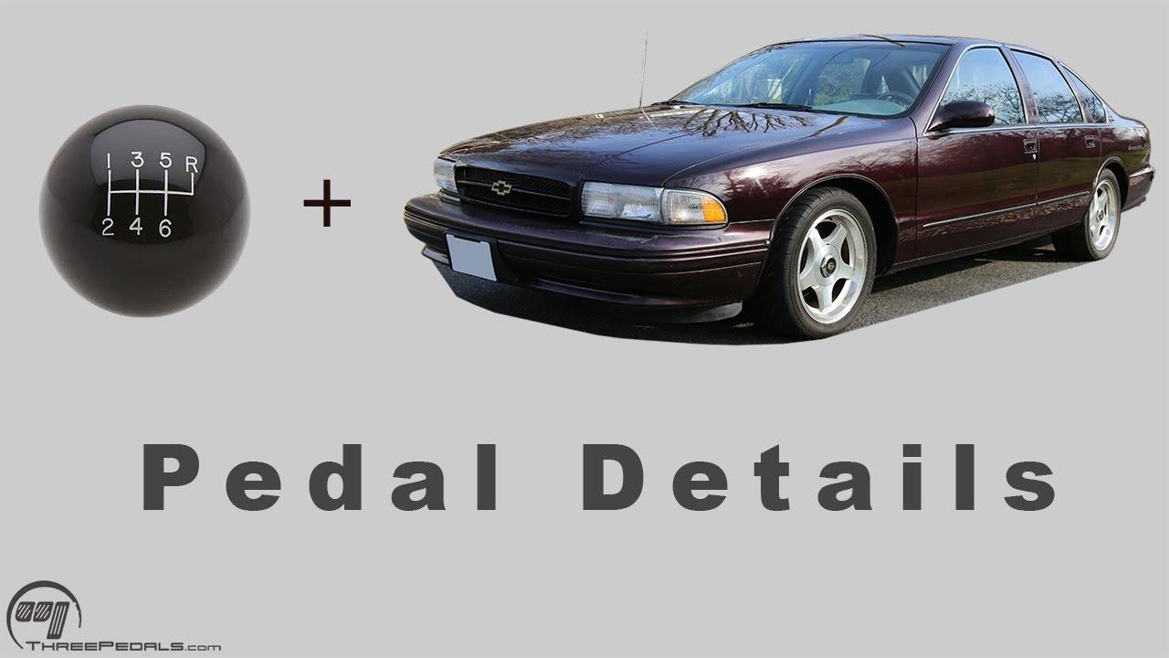 GM B-Body / Impala SS Kit | Three Pedals