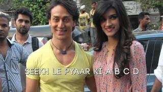 Whistle Baja - Heropanti    Manj, Nindy Kaur Feat Raftaar - Tiger Shroff, Kriti Sanon