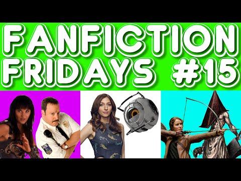 Fanfiction Friday #15 - Paul Blart/Xena, Space Core/Gina, Katniss/Pyramid Head