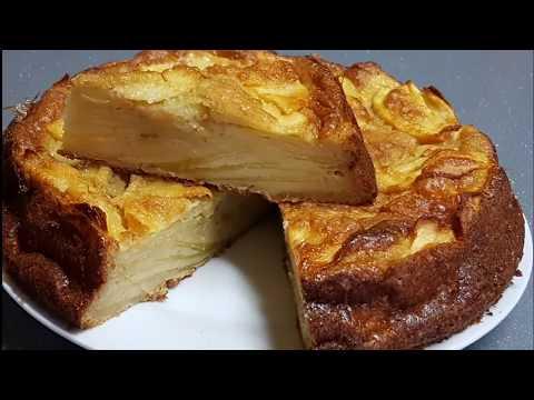 gâteau-aux-pommes-invisible-facile-et-très-fondant