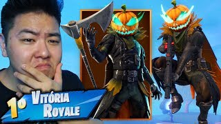 THE NEW HALLOWEEN SKIN CURSED MY DEPARTURE!! -Fortnite Battle Royale