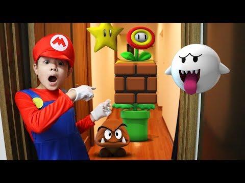 実写版 マリオメーカー2 Real Life in Super Mario Maker 2 寸劇 アニメ