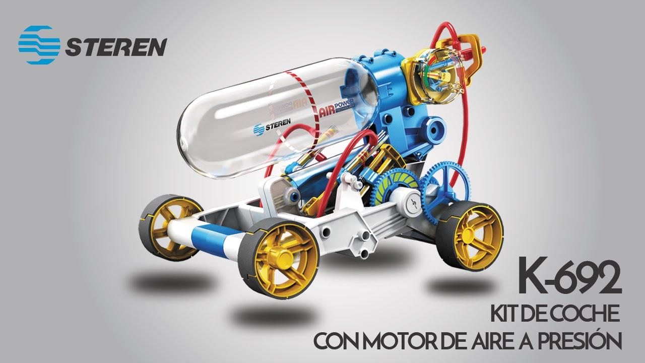 Kit de auto con motor de aire a presi n youtube for Motor de presion de agua