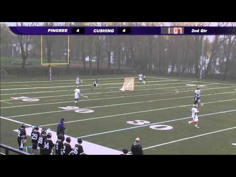 Cushing Academy-Varsity Boys Lacrosse vs. Pingree School
