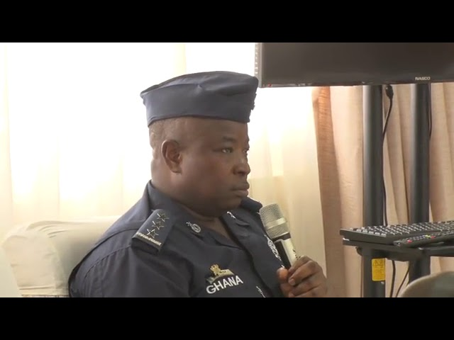 DSP Azugu describes the 'soporadic' situation that happened at Ayawaso West Wuogon