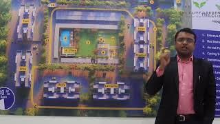 Mr. Sanjay Baviskar sharing details about The Cliff Garden