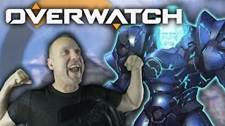 SQUISHED IN THE CORNER - Swifty Plays Overwatch #11 w/ Friends!