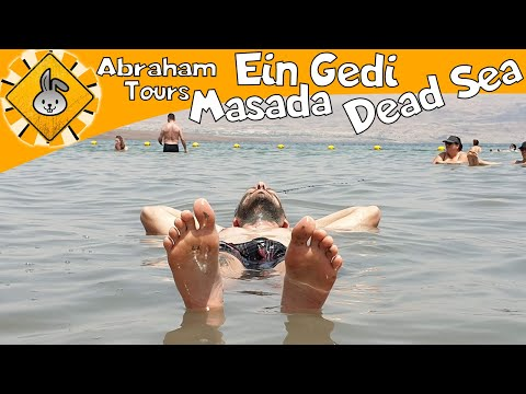 Abraham Tours: Masada, Ein Gedi \u0026 Dead Sea Tour