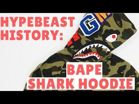 Bape Hoodie History- A Bathing Ape Camouflage Camo Shark and Nigo