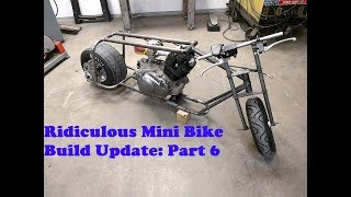 460 stroker big block mini drag bike build*** {# ALL IN }***honda