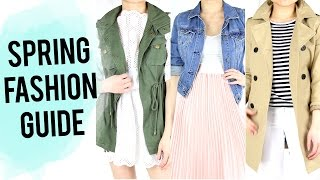 Spring Fashion Essentials Guide | Clothing Haul & Review | 2016 Fashion Trends | Miss Louie