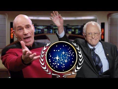 Where's Star Trek's FEDERATION on the POLITICAL COMPASS?