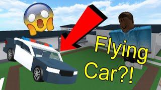 Roblox Trolling & Exploiting - Flying Car?! | Sentinel