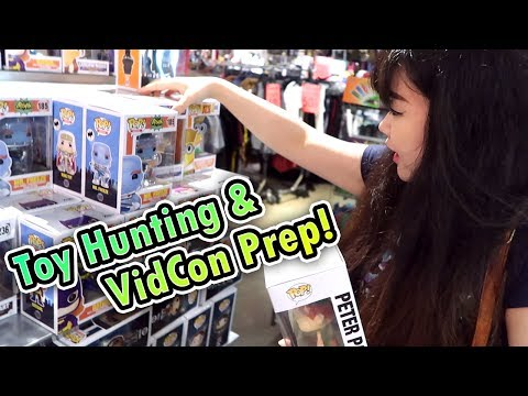 TOY HUNTING & VIDCON PREPARATION - Funko Pops, Clearance Toys and MORE!