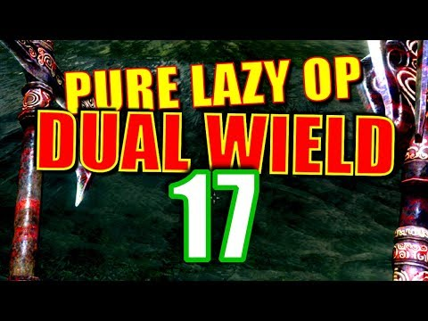 Skyrim Pure Lazy OP Dual Wield Walkthrough Part 17: Embershard Payback & Fist Fight at Markarth thumbnail