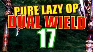 Skyrim Pure Lazy OP Dual Wield Walkthrough Part 17: Embershard Payback & Fist Fight at Markarth