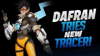Dafran Tries New Tracer Buff! - Overwatch