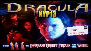 *NEW DELIVERY* Multimedia - Dracula Slot Machine Live Play & Bonus Features