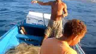 pescaria de rede