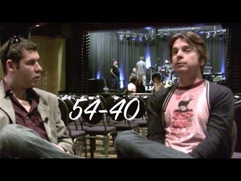 54-40 Interview