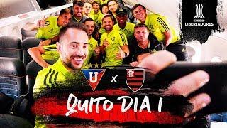 Flamengo desembarca em Quito para jogo contra a LDU