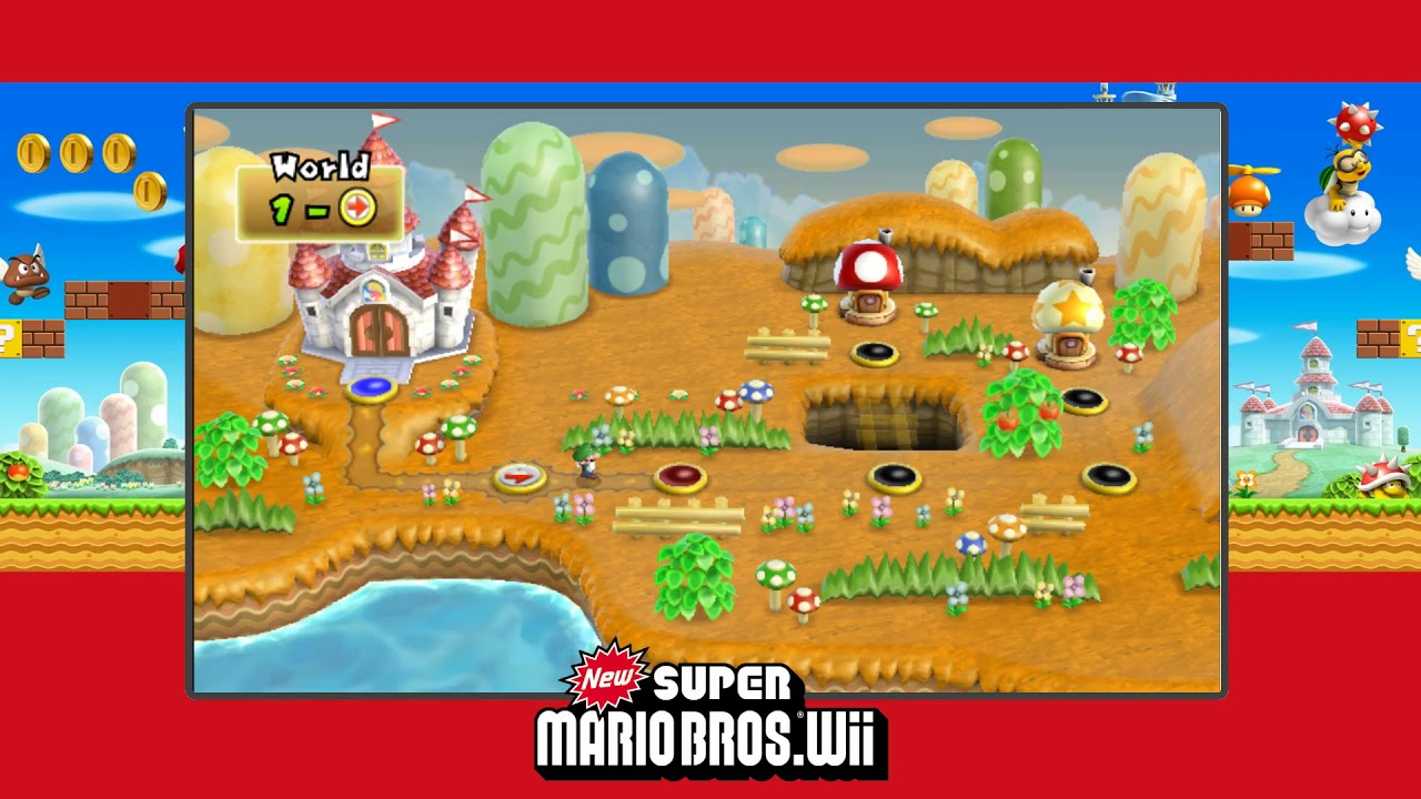New Name! Newest Super Luigi Bros  Wii and better Autumn Tileset