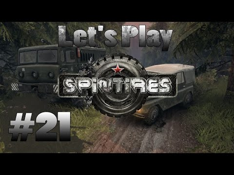 Let's Play Spintires (part 21 - Quest For Fuel Depot)