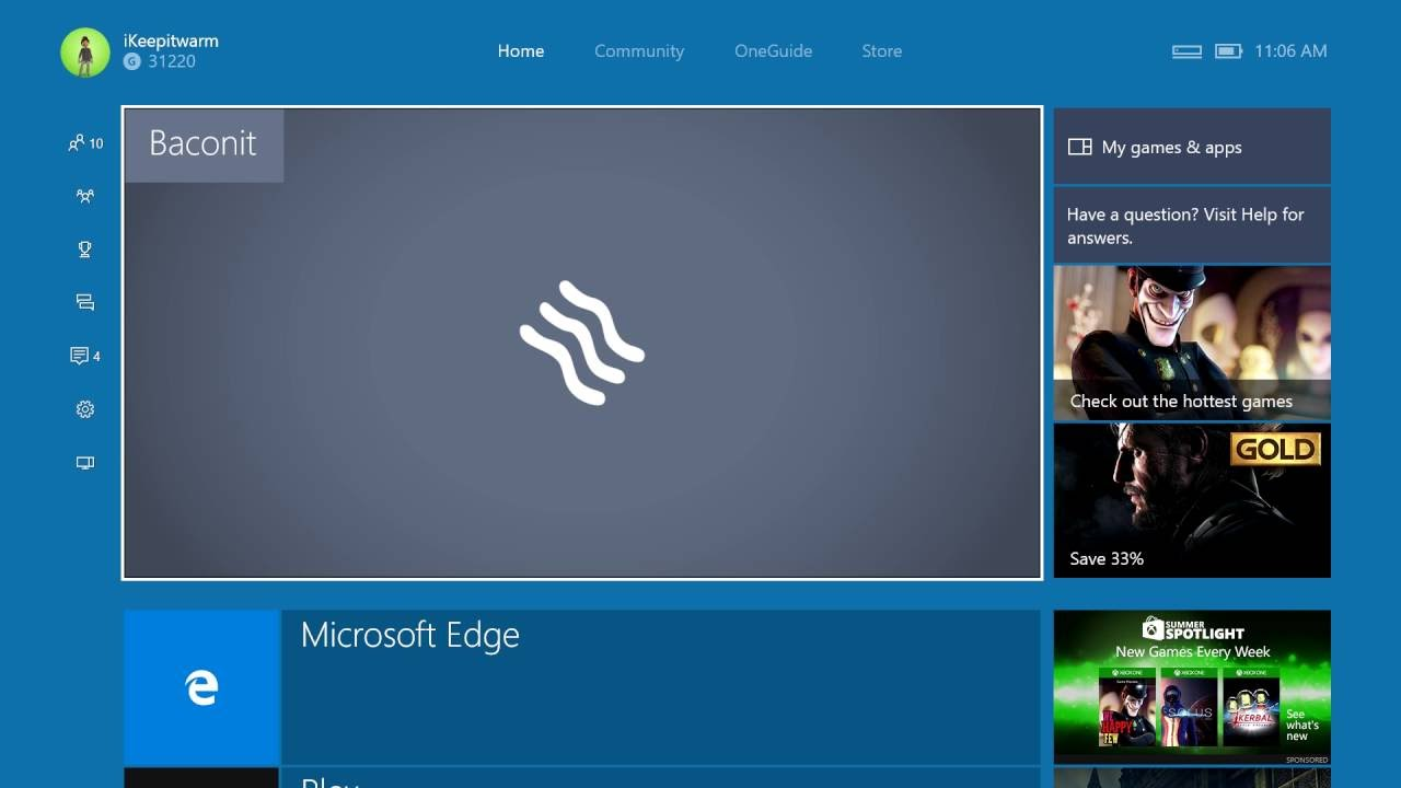 Baconit beta Reddit XBOX ONE UWP App Latest Preview - YouTube