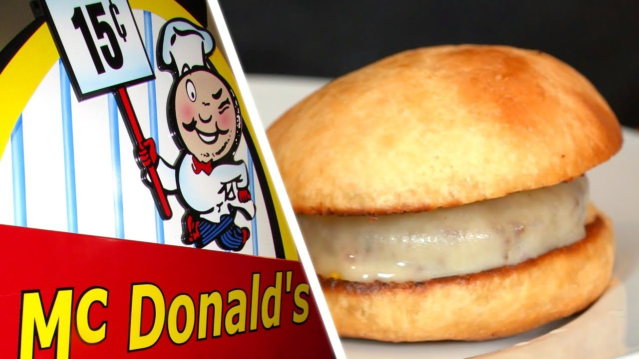 I Tried To Re-Create McDonald's Original 15¢ Hamburger From 1955 | Fine Dining & Fast Food by Served