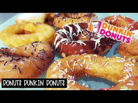 Receta de los auténticos DONUTS de Dunkin