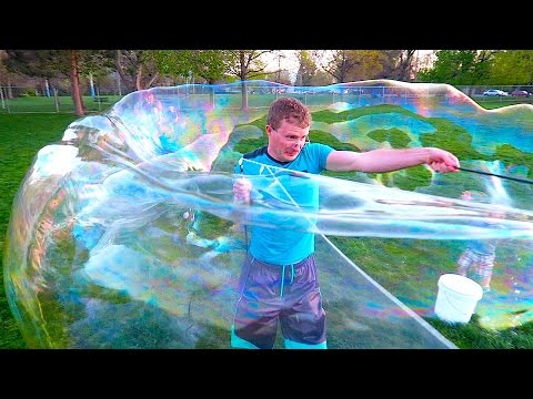 How to make big bubbles from YouTube · Duration:  3 minutes 40 seconds