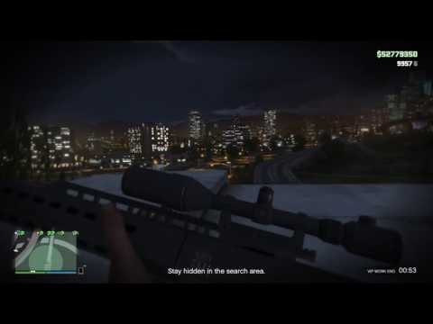 """GTA Online PS4 - """"NO INSURGENT FOR YOU"""". Sniping From A Search"""