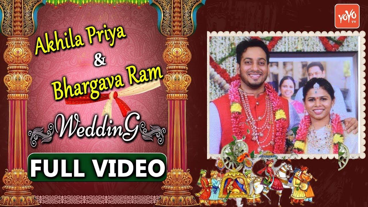 Bhuma Akhila Priya 2nd Marriage Full Video | Minister Akhila Priya ...