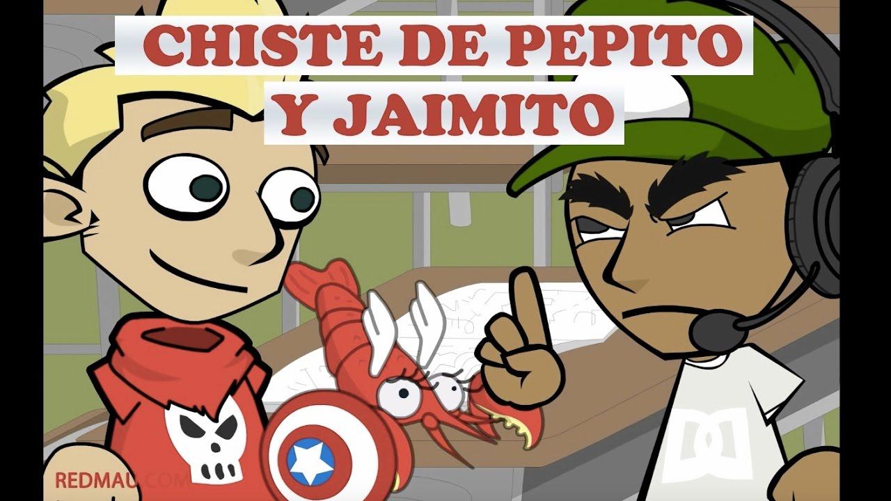 chistes de pepito y jaimito langosta capitán américa youtube
