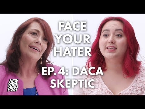 Anti-Immigrant Debates DACA Recipient About Immigration and Deportation | Face Your Hater | NY Post