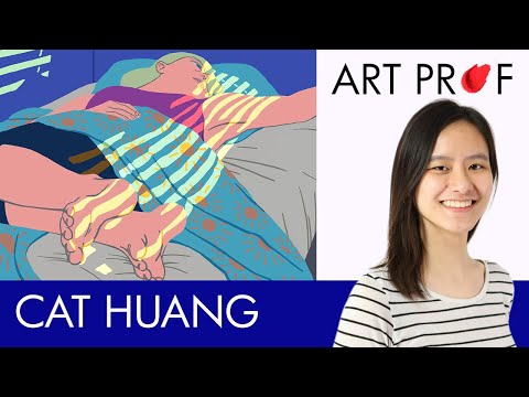 Catherine Huang, Illustrator & Comics Artist