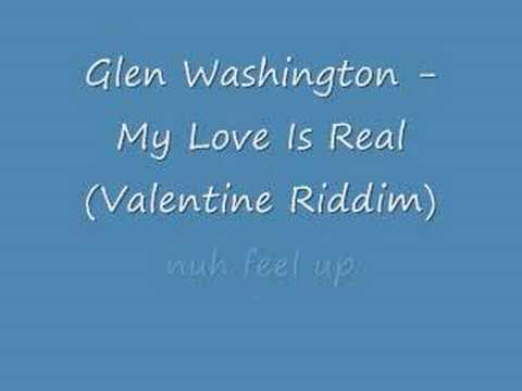 Glen Washington - My Love Is Real