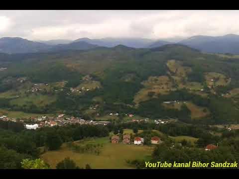 Petnjica - pogled sa Korackog krsa - Video
