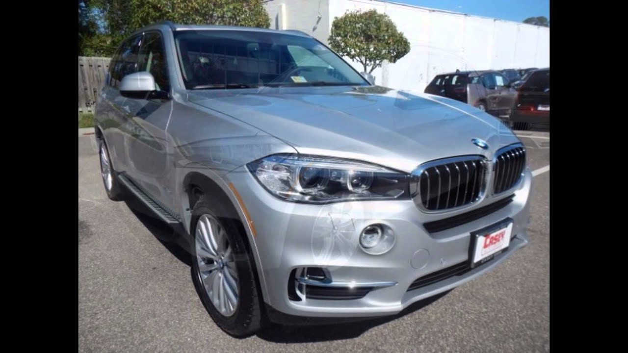 2016 Bmw X5 Xdrive35i Glacier Silver Metallic Youtube