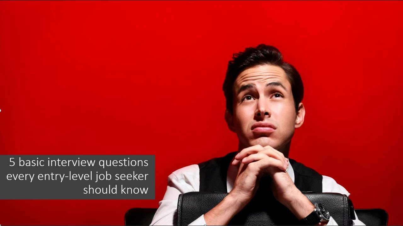 entry level job interview questions