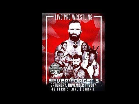 Barrie Wrestling - Never Forget 3