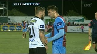 Dundalk 6-0 Drogs - 18th September 2015 - Marks sent off